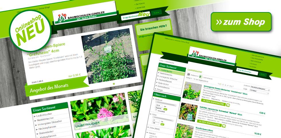 Besuchen Sie unseren neuen Onlineshop